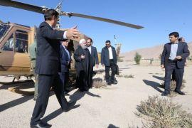 Iran akhiri misi pencairan korban gempa