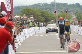Pebalap Jerman juara etape pertama Tour de Singkarak