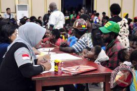 Polisi Papua apresiasi pembelajaran siswa di pengungsian