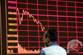 Pasar saham China ditutup lebih  rendah