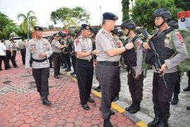 Dua SSK Brimob Kaltim Diberangkatkan ke Papua