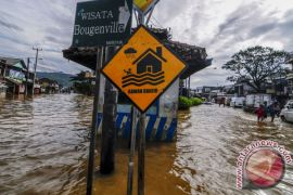 Ratusan rumah di Kota Bandung kebanjiran