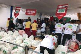 BPJS Ketenagakerjaan Bandung-Suci Gelar Pasar Murah