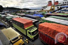 Angkutan penyeberangan Merak-Bakauheni dihentikan sementara