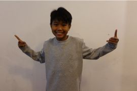 Rici, breakdancer cilik wakil Indonesia di Asia's Got Talent