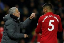 Manchester United perpanjang kontrak Marcos Rojo hingga 2021