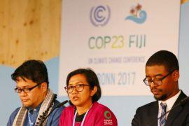 Walhi aksi tolak batu bara di COP-23