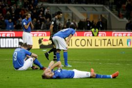 Gagal ke Piala Dunia, Presiden Federasi Sepak Bola Italia mengundurkan diri