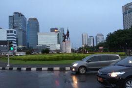 Hujan guyur sebagian besar Jakarta siang ini