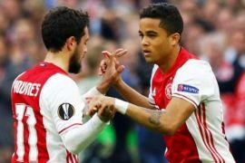 Hasil Liga Belanda: Trigol Kluivert antar Ajax menang besar