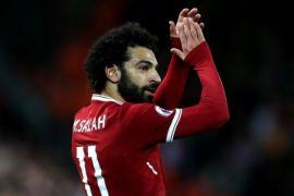 Mohamed Salah pencetak gol terbanyak Liga Inggris