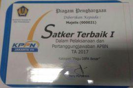 Setjen MPR raih penghargaan Satker Terbaik dari Kemenkeu