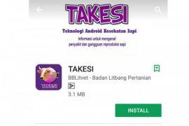 Aplikasi TAKESI di Android permudah peternak kenali penyakit sapi