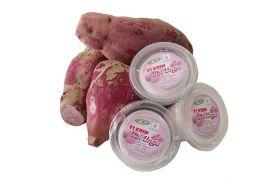 Es krim ubi jalar ungu, sajian kaya antioksidan kekinian