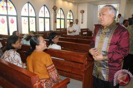 Utusan Presiden Temui Pendeta GPM