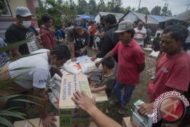 Logistik pengungsi Gunung Agung di Klungkung aman