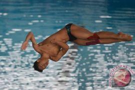 Malaysia juara umum laga uji coba loncat indah Asian Games
