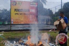 KPPBC Pangkalpinang Musnahkan 1,2 Juta Batang Rokok Ilegal