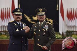 Begini pelantik Marsekal TNI Hadi Tjahjanto jadi panglima TNI