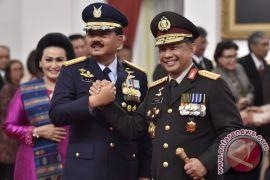 """""""Diplomasi kopi"""" untuk tingkatkan soliditas TNI dan Kepolisian Indonesia"""
