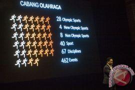 Indonesia perpanjang pendaftaran tiga cabang uji coba Asian Games
