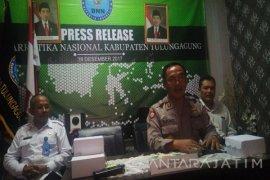 Antisipasi Peredaran Sabu Cair, BNNK Tulungagung Razia Tempat Hiburan Malam