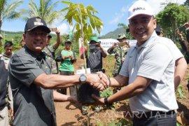 Inka Reboisasi 5.000 Pohon di Lokasi Longsor Ponorogo