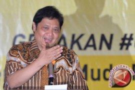 Airlangga hadir konsolidasi pemenangan golkar Jambi di pemilu