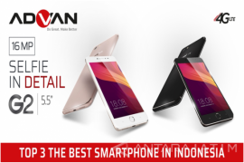 "Gawai Asal Indonesia, Advan Masuk ""TOP 3 Best Smartphone"""
