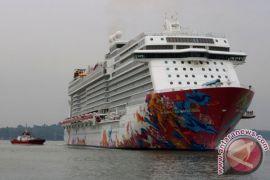 Kedatangan kapal pesiar di Tanjung Perak tak ganggu angkutan tahun baru