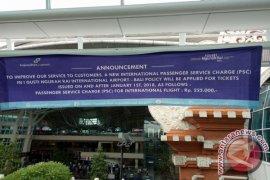 PHRI: Tarif Layanan Penumpang Internasional Bandara Bali Naik