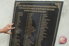 Daftar Nama Korban Tsunami