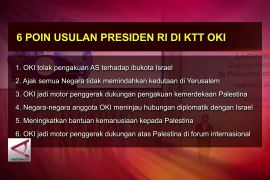 Presiden Usulkan 6 Poin Penting di KTT LB OKI