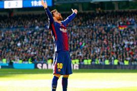 Ditandai gol ke-100 Messi, Barcelona ke perempatfinal Liga Champions