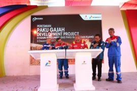 Pertamina operasikan fasilitas gas Paku Gajah