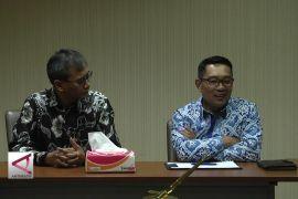 Ridwan Kamil Kunjungi Kantor Berita Antara