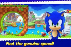 Game Sonic Runners Adventure meluncur di smartphone