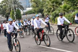 Anies Baswedan ikuti  Koarmabar Fun Bike