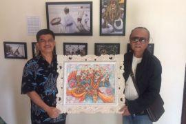 Dasawindu Antara; lukisan dari seniman Bali