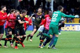 Benevento catat kemenangan ketiga musim ini