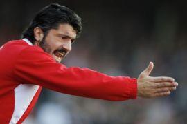 AC Milan libas Bologna 2-1, kemenangan pertama Gattuso