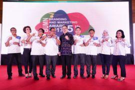 PT Indonesia Kendaraan Terminal raih The Best Branding BUMN Subsidiary Award 2017