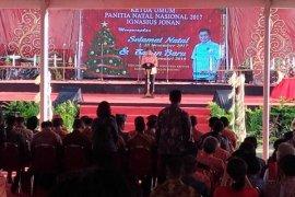 636 ASN Landak hadiri Natal Oikumene nasional