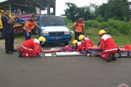 PMI simulasi SPGDT korban kecelakaan
