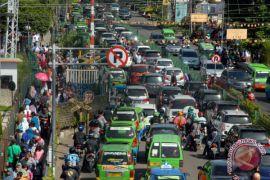 Kepadatan Kendaraan Libur Natal Di Bogor