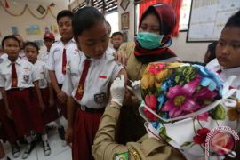 Warga Depok kesulitan ingin dapatkan imunisasi difteri