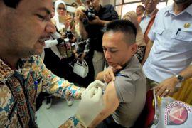 Penyuntikan ORI Difteri Polisi Aceh