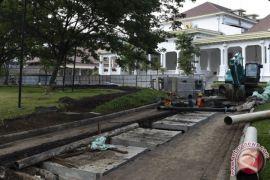 Menteri PUPR pastikan proyek drainase Istana segera selesai