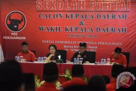Megawati ingatkan calon kepala daerah jangan korupsi