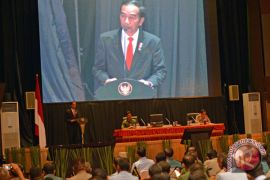 Presiden Jokowi ingin TNI dan Polri jaga soliditas